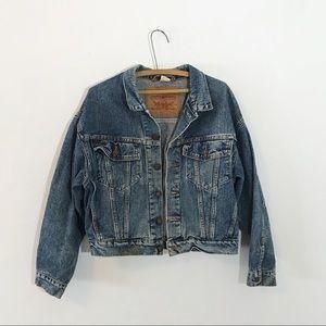 Vintage Levi Oversized Jean Denim Jacket